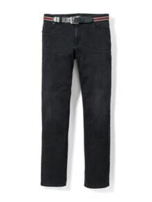Gürtel-Jeans Regular Fit Black Detail 1