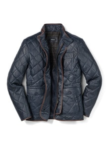 Steppleder Jacke
