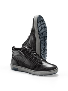 Ledermix- Sneaker High Top
