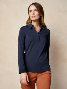Poloshirt Feincord