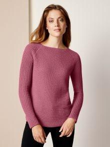 Baumwoll-Pullover Querdenker