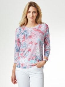 Shirt Aquarellblume