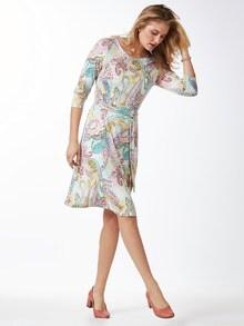 Jerseykleid Sommerpaisley