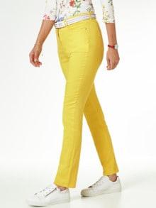 Yoga Jeans Ultraplus Sonnengelb Detail 1