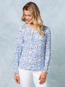 Blouson Shirtbluse