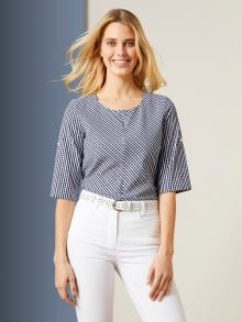 Shirtbluse Vichy