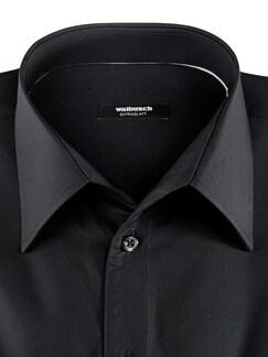 Extraglatt-Hemd Permablack Schwarz Detail 3