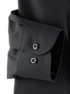 Extraglatt-Hemd Permablack Schwarz Detail 4