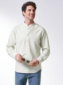 Oasen-Shirt Beige Detail 2