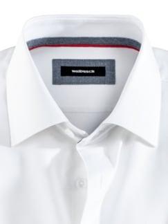 Freizeithemd Sorona Uni Weiß Detail 3