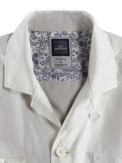 Baumwoll-Hemdjacke Beige Detail 4