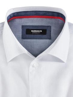 Extraglatt-Hemd High Class Weiß Detail 3