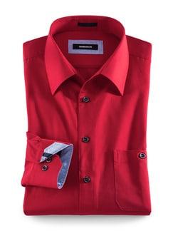 Regatta-Hemd Sorona Rot Detail 1