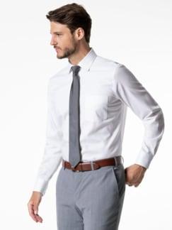 Extraglatt-Hemd Premium Weiss Detail 2