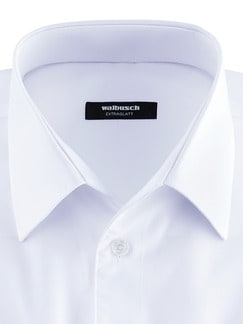 Extraglatt-Hemd Walbusch-Kragen weiss Detail 3