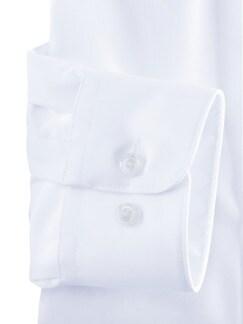 Extraglatt-Hemd Walbusch-Kragen weiss Detail 4