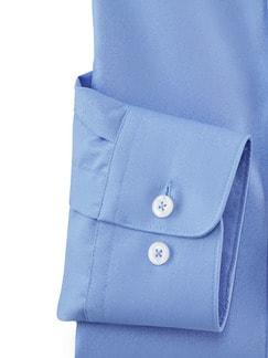 Extraglatt-Hemd Walbusch-Kragen Azur Detail 4