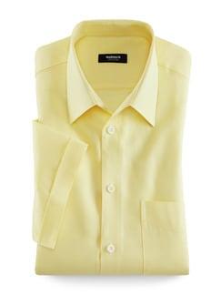 Tausend-Poren-Hemd Gelb Detail 1