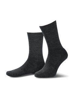 Thermosoft-Socke 2er-Pack Anthrazit Detail 1