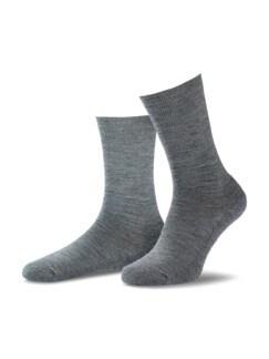 Thermosoft-Socke 2er-Pack Mittelgrau Detail 1