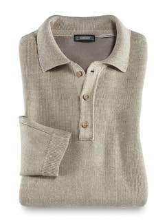 Polo-Pullover Heimat Natur Detail 1