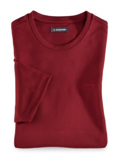 Klepper Dry Touch T-Shirt Rot Detail 1