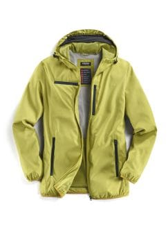 Klepper Travel Jacke Gelb Detail 1