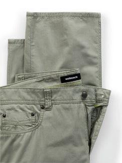 Ultraleicht Five Pocket Mintgrün Detail 4