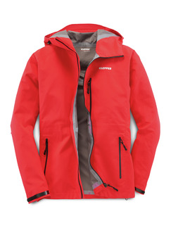 Klepperjacke Ultralight Extreme Feuer-Rot Detail 1