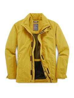 Klepper Packaway-Jacke Aquastop Gelb Detail 1