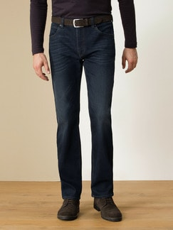 Husky Jeans Five-Pocket Dark Blue Detail 2