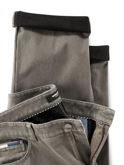 Five Pocket-Hose Thermo-Bonding Beige Detail 4