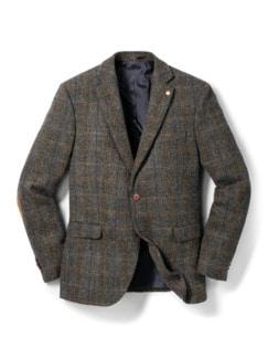 Harris-Tweed Sakko Beige/Braun Detail 1
