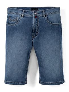 Ultralight Bermudas Jeans 2.0 Bleached Detail 1
