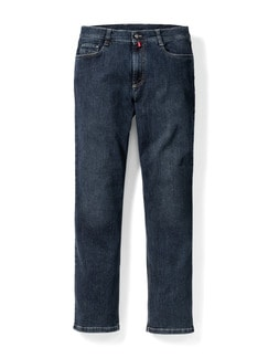 Extraglatt Flex Jeans Modern Fit Dark Blue Detail 1