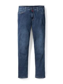 Extraglatt Flex Jeans Modern Fit Stone Detail 1