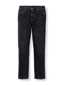 Extraglatt Flex Jeans Comfort Fit Black Detail 1