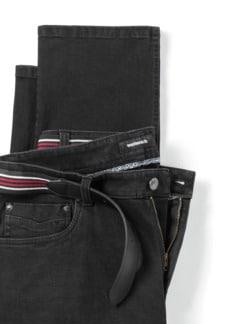 Gürtel-Jeans Modern Fit Black Detail 4