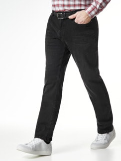 Gürtel-Jeans Modern Fit Black Detail 2