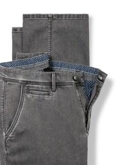 Husky Jeans Chino Grey Detail 4