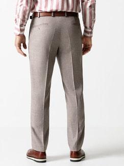 Anzug-Hose Sommerwolle Sand Detail 4