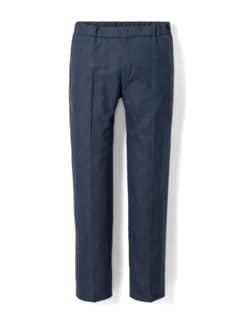 Sneaker-Anzug-Hose Dunkelblau Detail 1