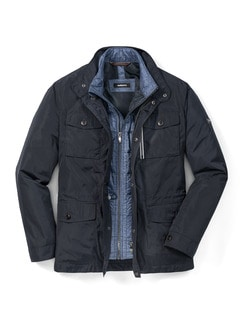 3-in-1 Manteljacke Marine Detail 1