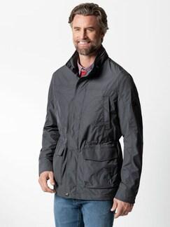 9-Taschen Jacke Anthrazit Detail 2