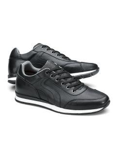 Perfo-Sneaker Handfinish Schwarz Detail 1