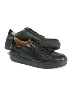 Reißverschluss-Sneaker Schwarz Detail 1