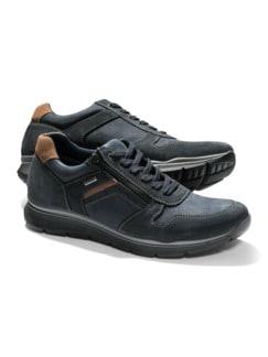 Aquastop Sneaker Blau Detail 1