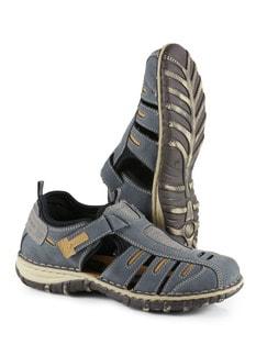 Klepper Trekking-Sandalenschuh Blau Detail 1