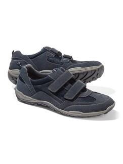 Klima Doppelklett Schuh Blau Detail 1