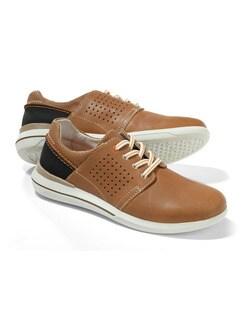 City-Sneaker 2.0 Cognac Detail 1